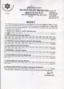 Result of MBBS 2nd Phase 3rd Year Supplementary Exam.