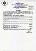 Result of BDS 3rd year Supplementary Exam 2077