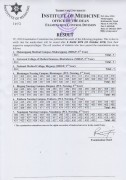 Result of MDGP 3rd Year Supplementary and PCL Nursing 3rd Regular Exam