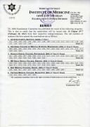 Result of BAMS 1st Prof. & BDS 4th Year 2nd Phase Regular and Supplementaryexam